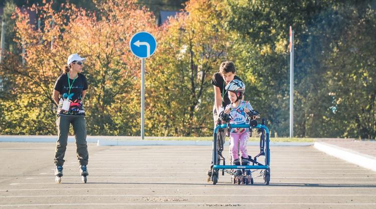 """Роллер-спорт - одно из направлений реабилитации Фото: предоставлено проектом """"Лига мечты"""""""