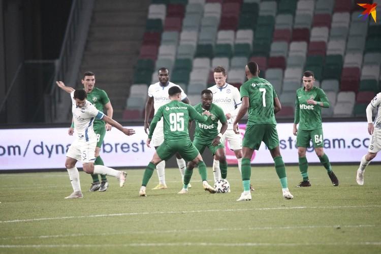 В Минске брестское «Динамо» принимало «Лудогорец».
