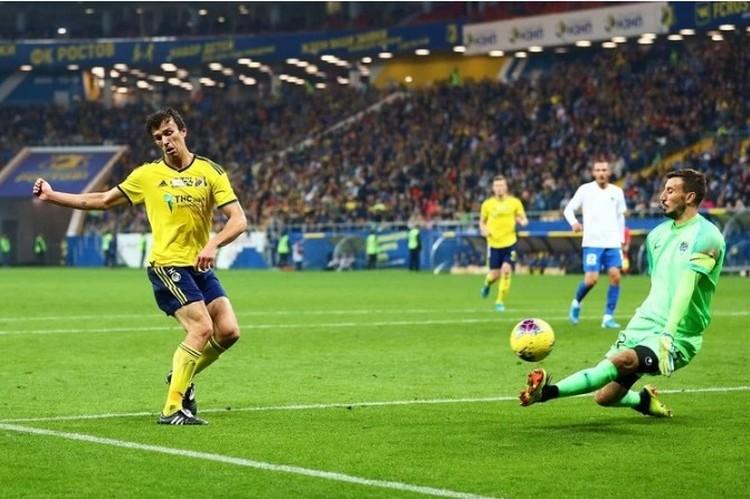 В прошлом году «желто-синие» одержали уверенную победу со счетом 2:0. Фото: пресс-служба ФК «Ростов».