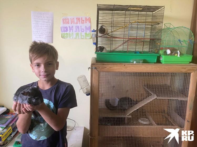 У Татьяны с самого детства были дома птицы и животные, которых нужно выхаживать.
