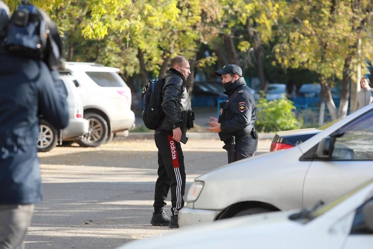 Пассажира без маски догнала полиция в Красноярске.