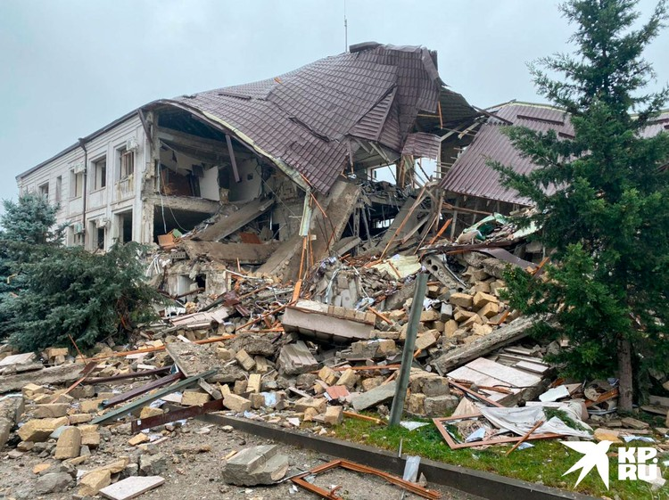 Последствия обстрела Степанакерта 5 октября.