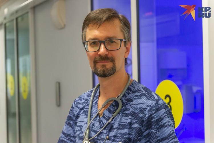 Алексей Кянксеп, заместитель главного врача по неонатологии