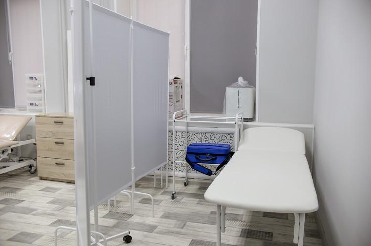 Это главный кабинет в центре, здесь принимают больных.
