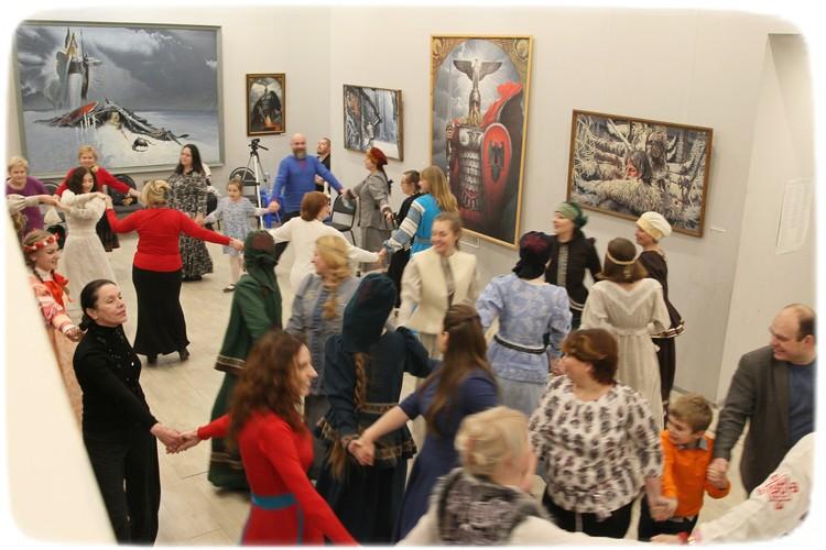 В музее есть постоянная экспозиция и регулярно устраивают новые выставки. Фото из архива Музея славянской культуры