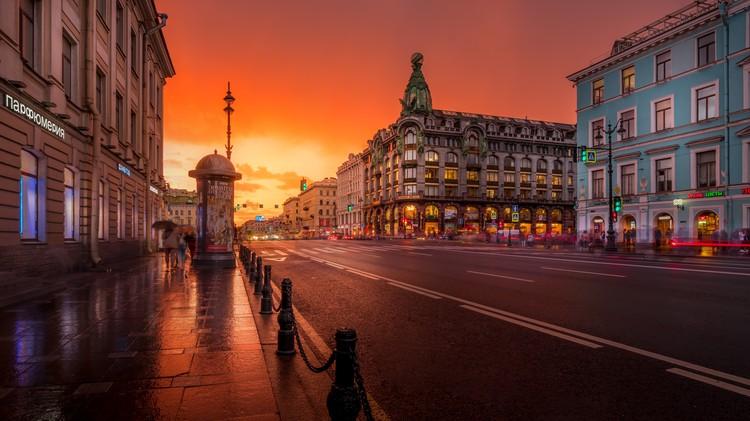 «Чистота улиц Питера», Антон Алымов, Москва