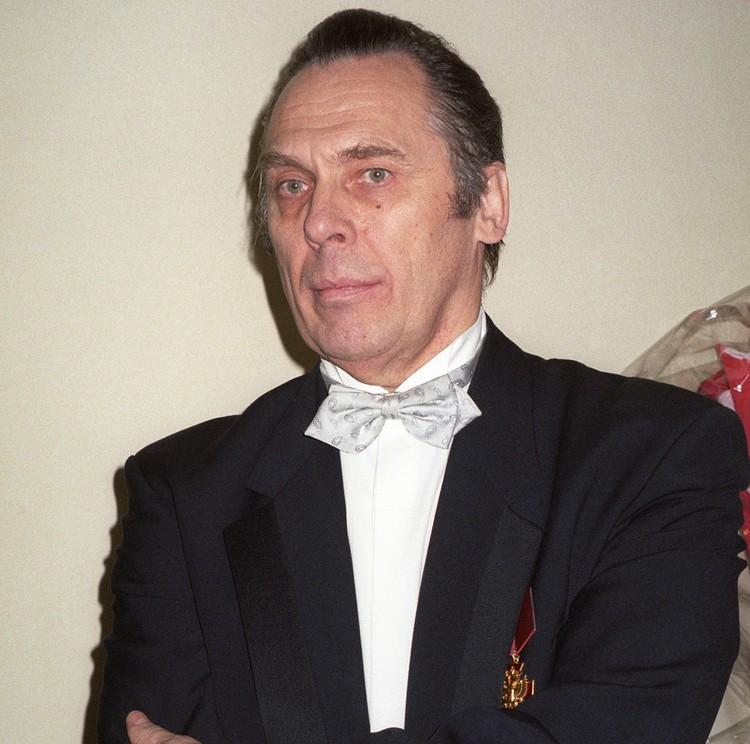 Солист Большого театра России Владислав Пьявко в 2000 г. Фото Андрея Бабушкина (ИТАР-ТАСС)