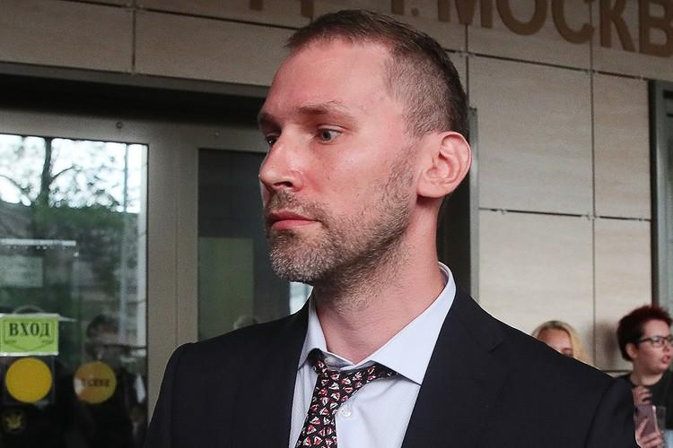 Адвокат Марии Хачатурян Ярослав Пакулин. Фото: Владимир Гердо/ТАСС