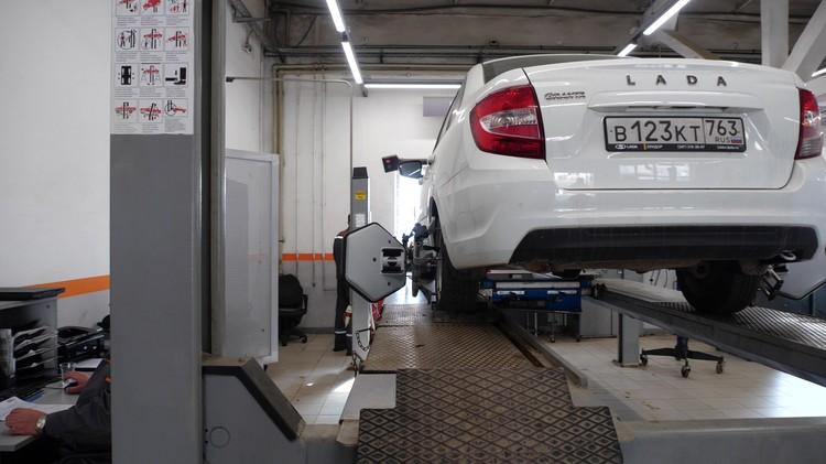 Раз в квартал проводится клиентский день: диагностика автомобиля бесплатно.