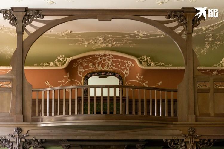 Балкончик в Кленовой гостиной