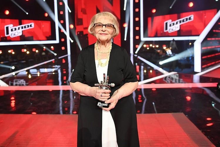 Дина Ивановна Юдина из Петербурга победила в суперфинале третьего сезона проекта. Фото: МАКСИМ ЛИ