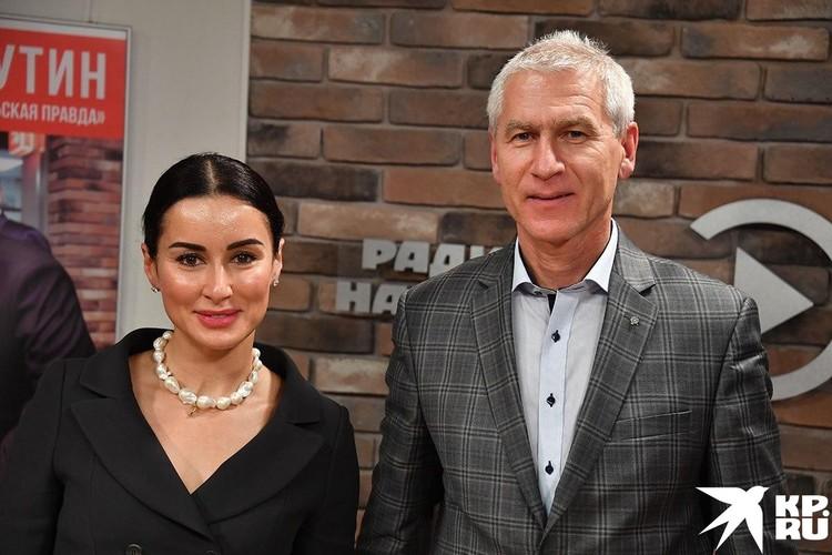 Тина Канделаки и Олег Матыцин
