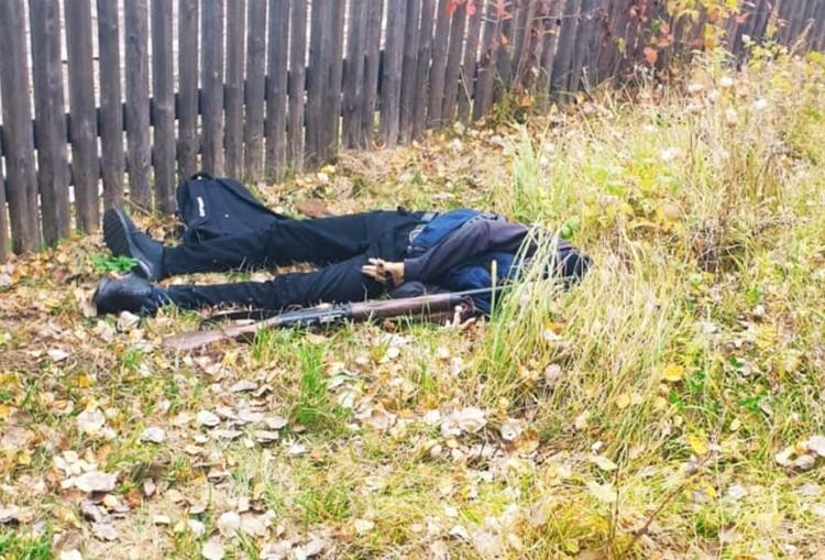 Тело было найдено в 200 метрах от места преступления.