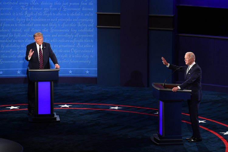 Действующий американский лидер Дональд Трамп баллотируется на второй срок, конкурентом ему выступает демократ Джо Байден