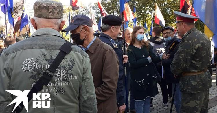 В Киеве прошел марш нацистов