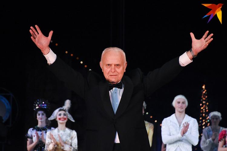 Валентин Елизарьев на сцене Большого в день премьеры.