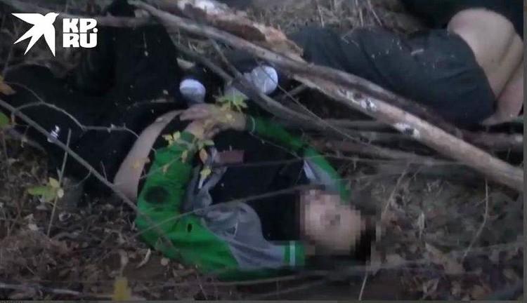 Боевики открыли огонь при задержании, и их ликвидировали. Фото -скрин видео ФСБ.