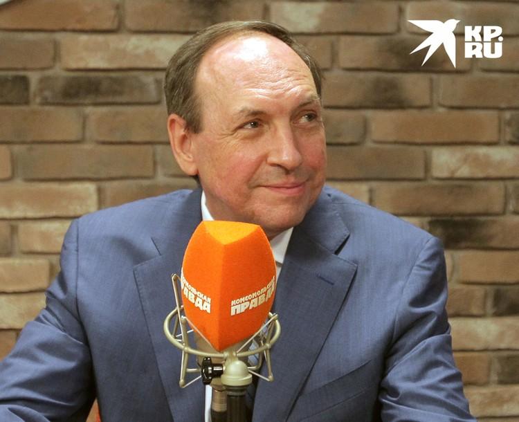 Председатель комитета Госдумы РФ по образованию и науке Вячеслав Никонов.