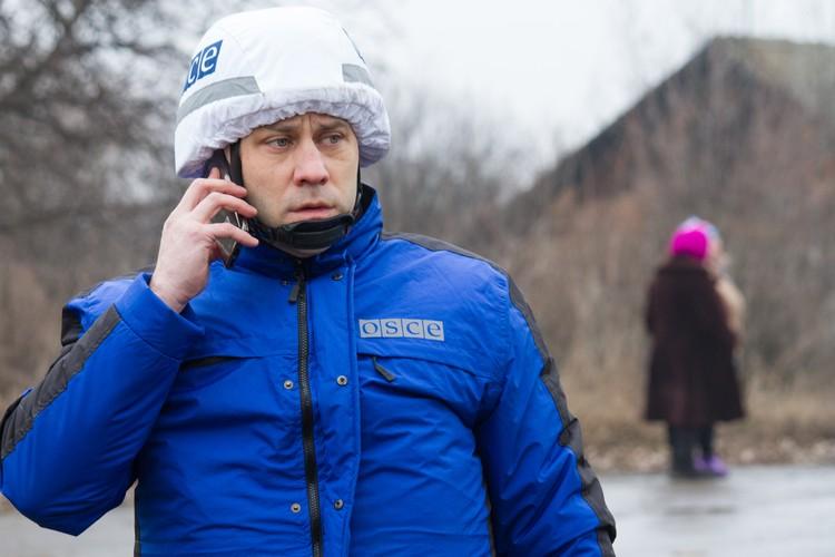 Организация по безопасности и сотрудничеству в Европе развернула специальную мониторинговую миссию в Донбассе в 2014 году
