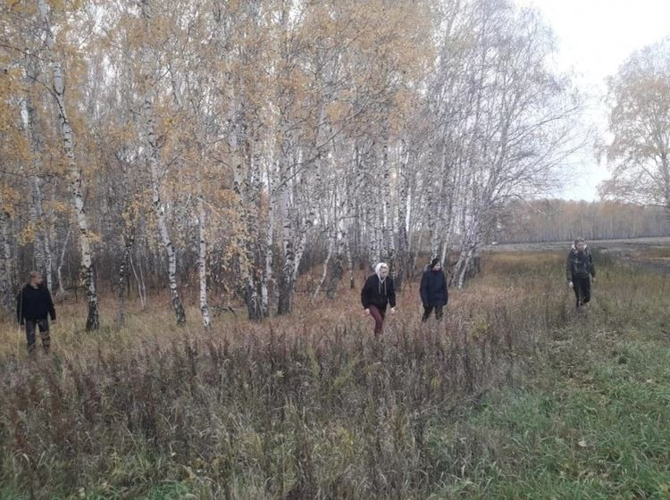 Волонтеры прочесали 30 квадратных километров в поисках Некрасова.