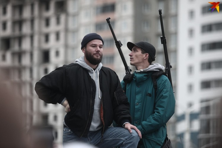 "Съемки клипа Макс Коржа на песню ""Ее виной""."