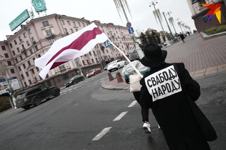 В Минске проходят акции протеста