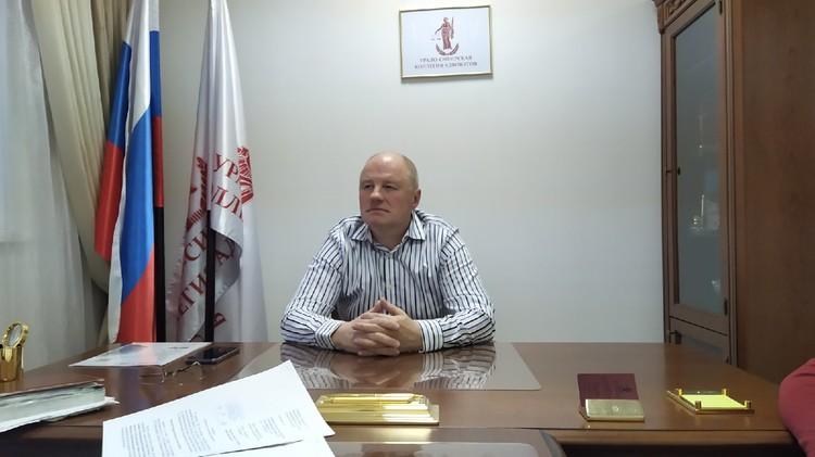 Адвокат Игорь Упоров не смог посмотреть видео допроса потерпевших