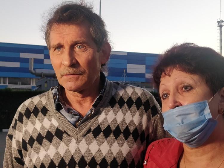 Валентин Нечай и его супруга