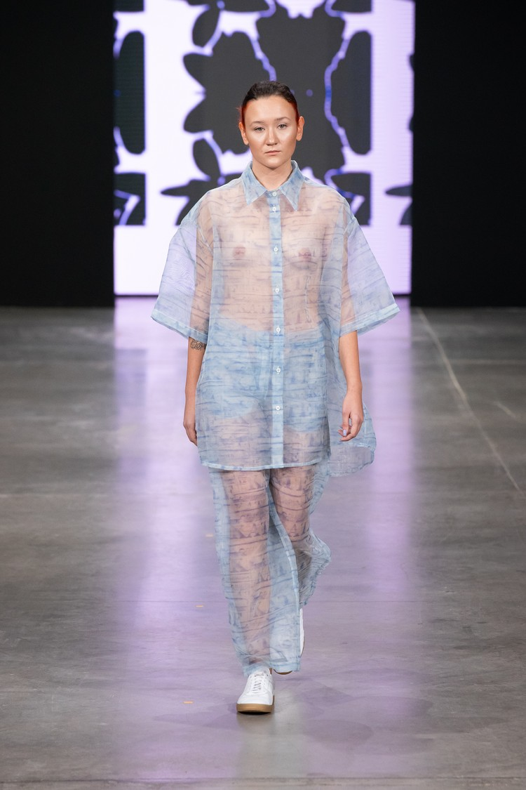 Коллекция дизайнера Екатерины Титовой. Фото: предоставлено Национальной палатой моды.