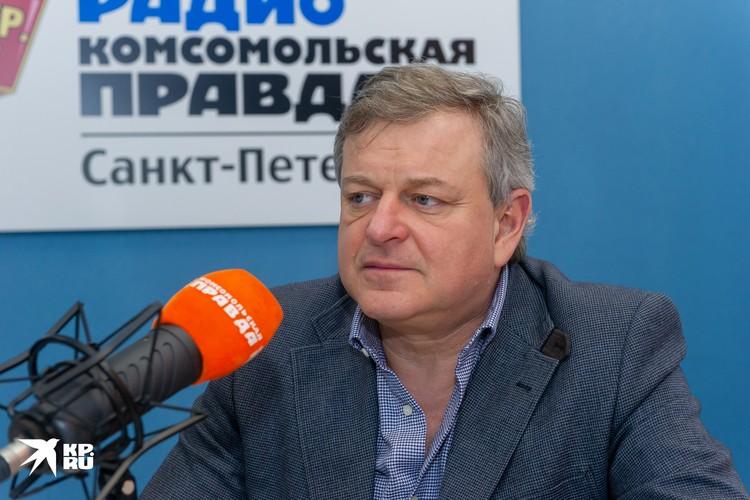 Президент КСК «Тинькофф Арена» Вадим Финкельштейн.