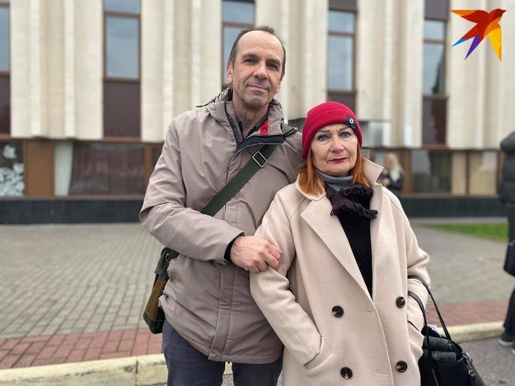 Сергей Куриленко с женой Валентиной Харитоновой. Вместе они служили в Гродненском театре 40 лет.