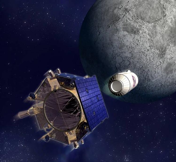 В 2009 году пары лунной воды поднял взрыв от удара ступенью ракеты по кратеру.