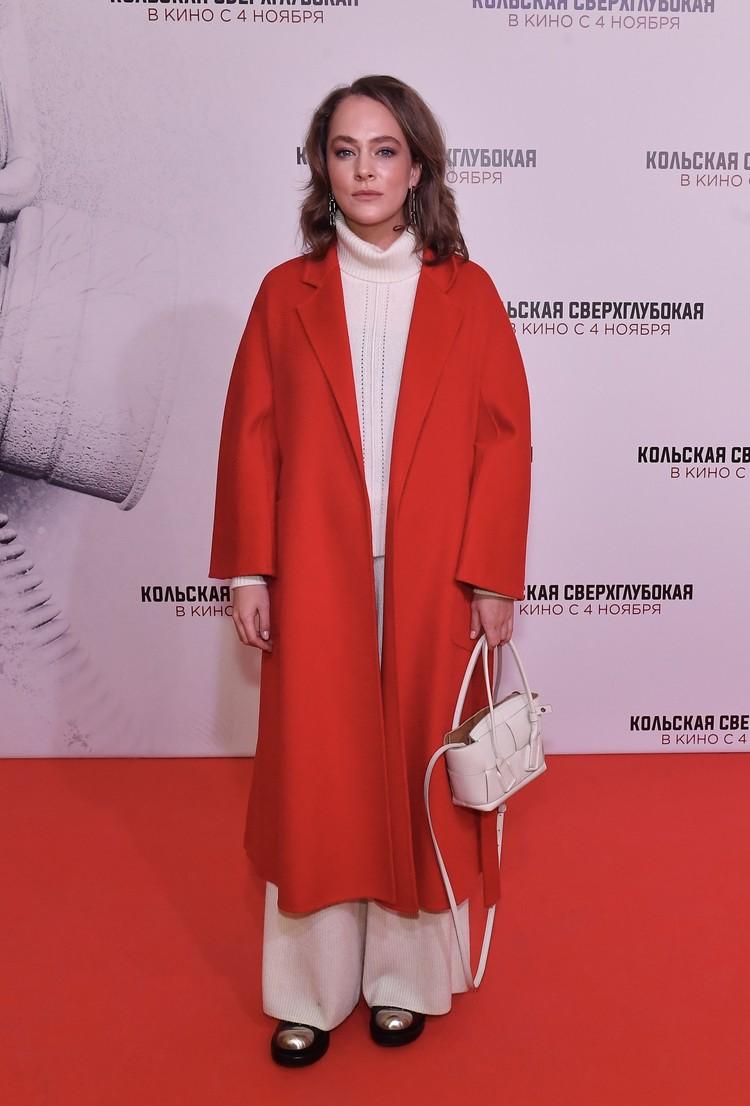 Актриса Аглая Тарасова.