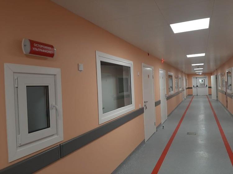 Пока пандемия не закончится, в новом стационаре будут лечить пациентов с коронавирусом