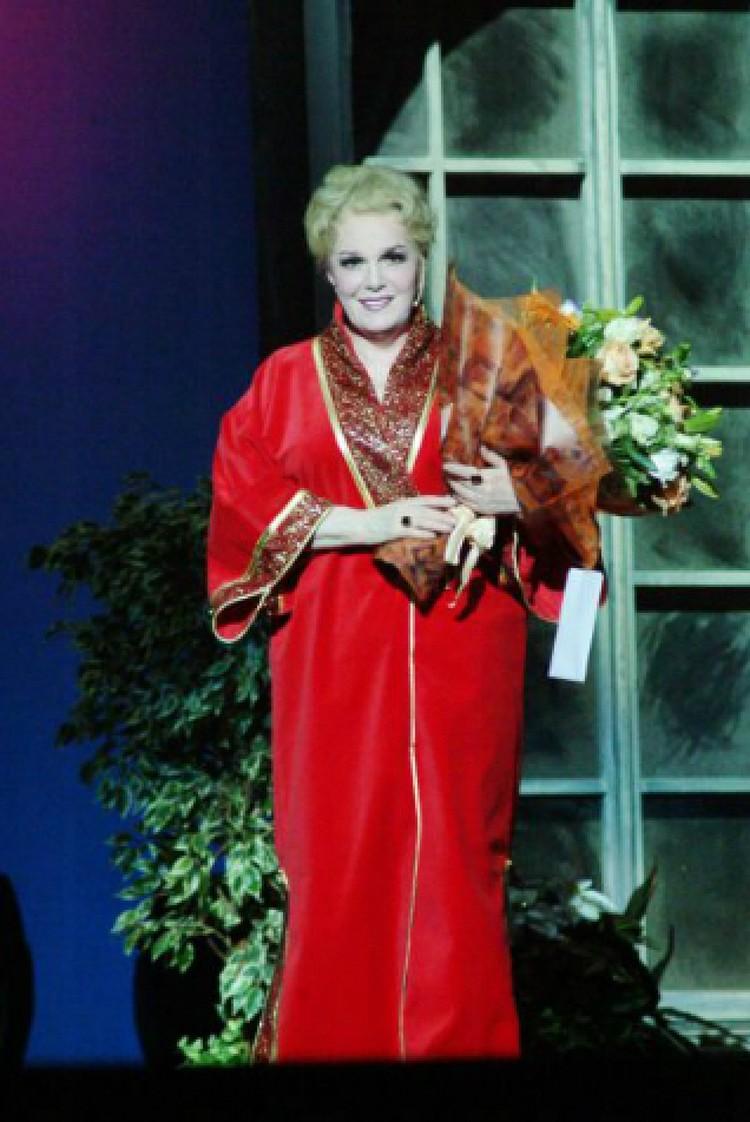 Перед смертью у народной артистки СССР со счетов пропали 35 млн рублей. Фото: Anatoly LOMOKHOV/GLOBAL LOOK PRESS