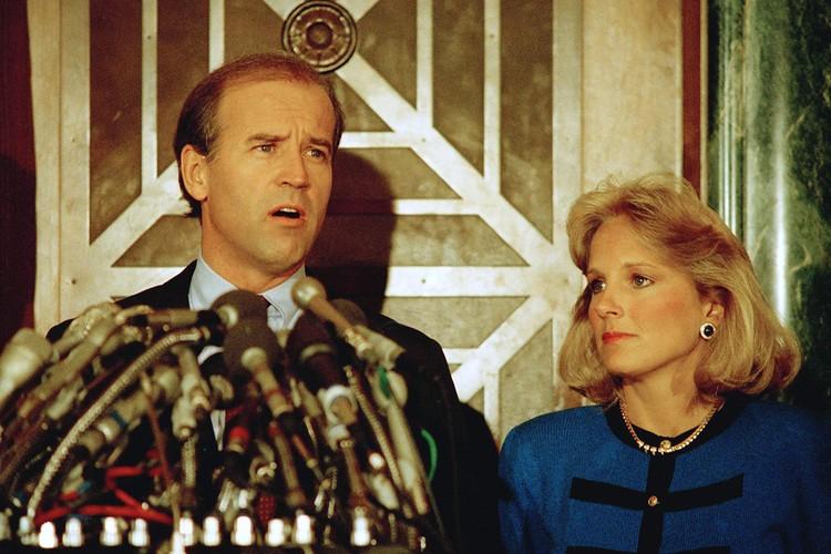 Джо Байден со второй женой Джилл, 1987 год.
