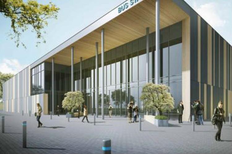 Строительство автовокзала должны завершить до конца года. Фото: предоставлено ООО «Служба организация движения»