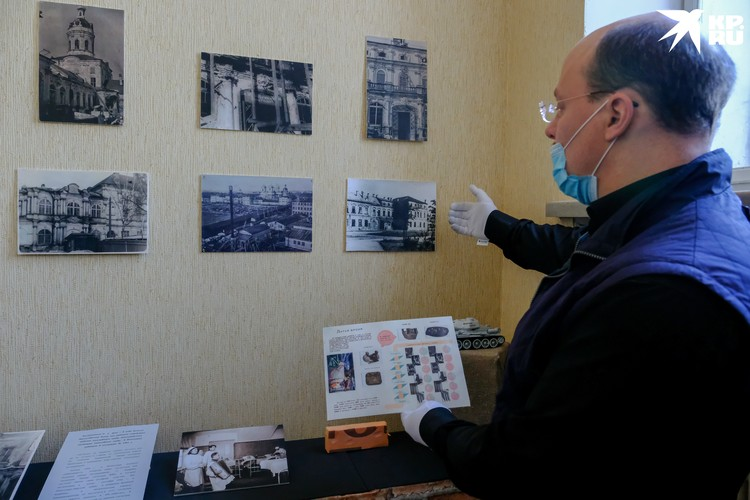Новая экспозиция стала частью постоянной в здании Древлехранилища лавры.