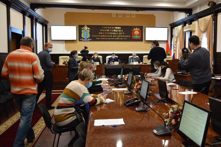 Брифинг в УМВД по Липецкой области о мошенничествах в сфере IT