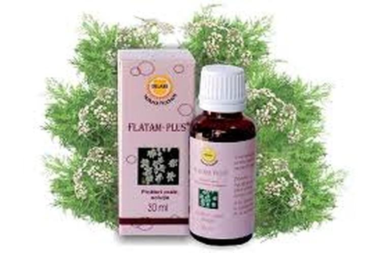 FLATAM PLUS® - это натуральное, растительное средство на основе сухих экстрактов плодов фенхеля и тмина