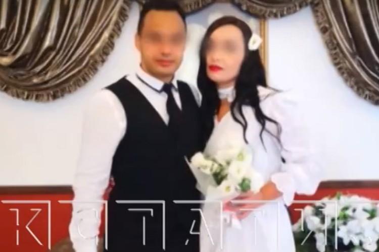 Фото со свадьбы Ольга разослала своим знакомым. Фото: Кстати