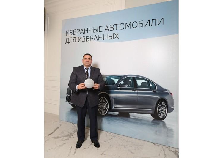 Генеральный партнер премии «Бавария-Авто» – официальный дилер BMW в Туле