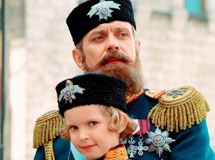 Никита Михалков в роли императора Александра III.