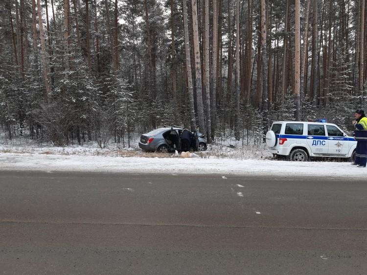 Пассажирка погибла в машине скорой. Фото: ГИБДД по Челябинской области