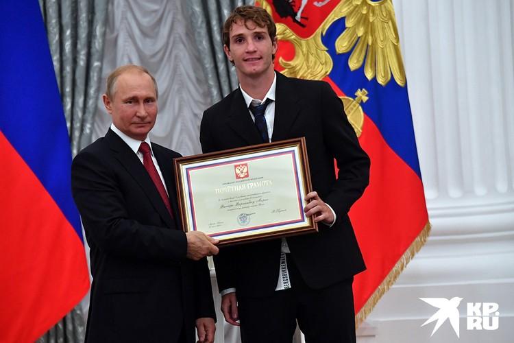 Из всех известных россиян Марио знает только Путина