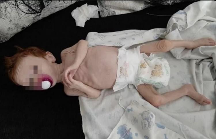"""В таком состоянии девочку нашли друзья Юлии Зыковой. Фото: читатели """"КП"""""""