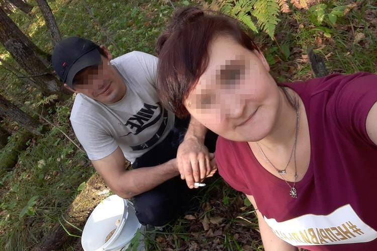 Молодая мать со своим сожителем Фото: социальные сети