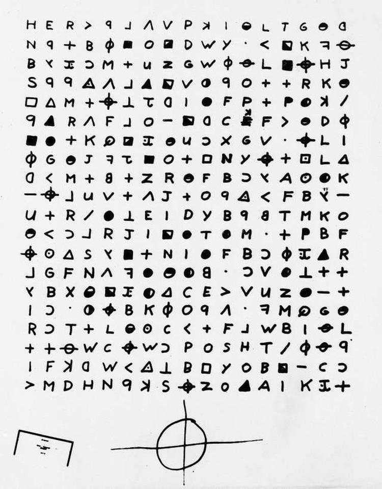 Специалистам удалось расшифровать треть из четырёх писем Зодиака, которые он рассылал в редакции газет