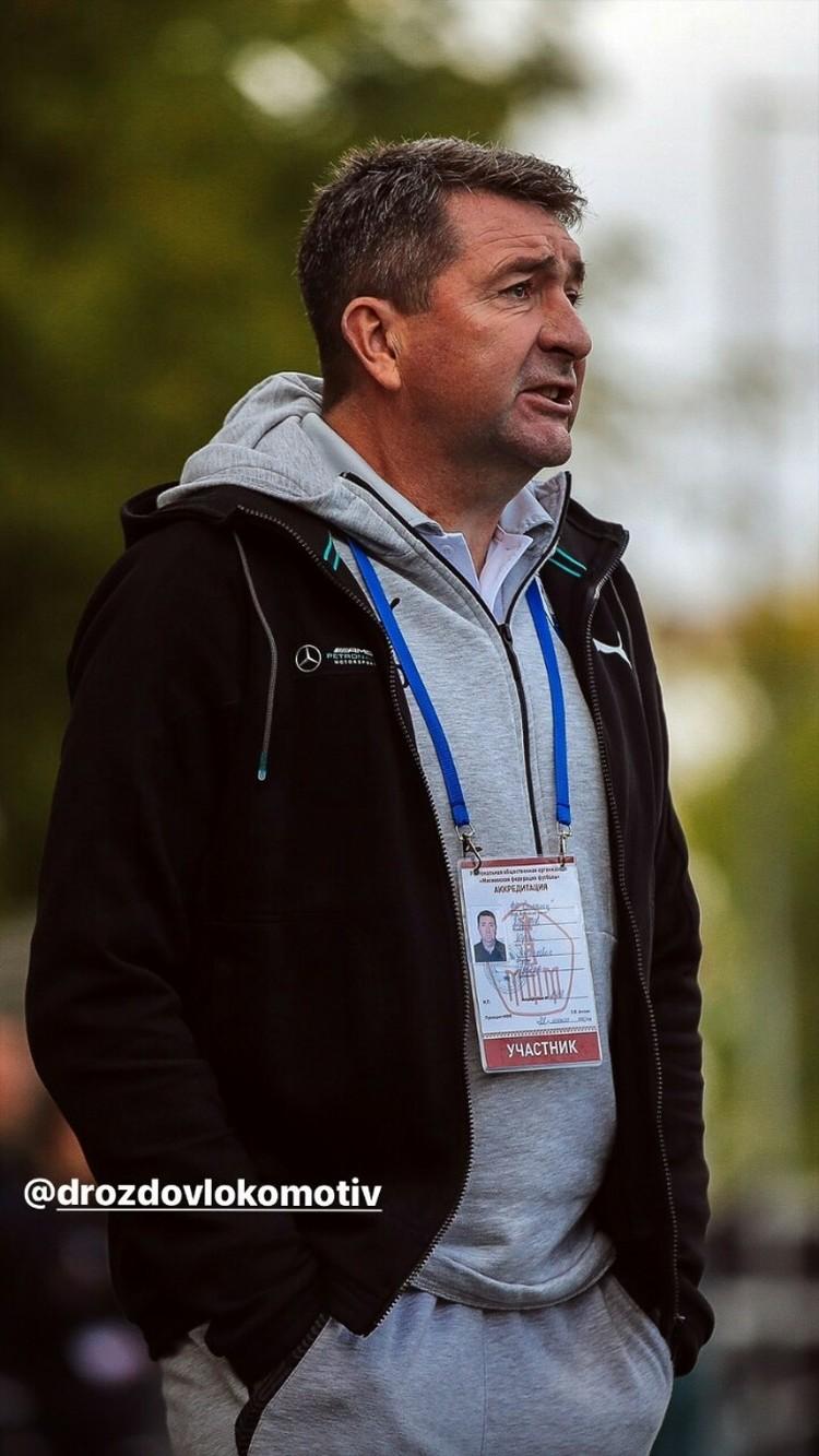 Литвин пригласил тренером звезду «Локомотива» 2000-х Юрия Дроздова
