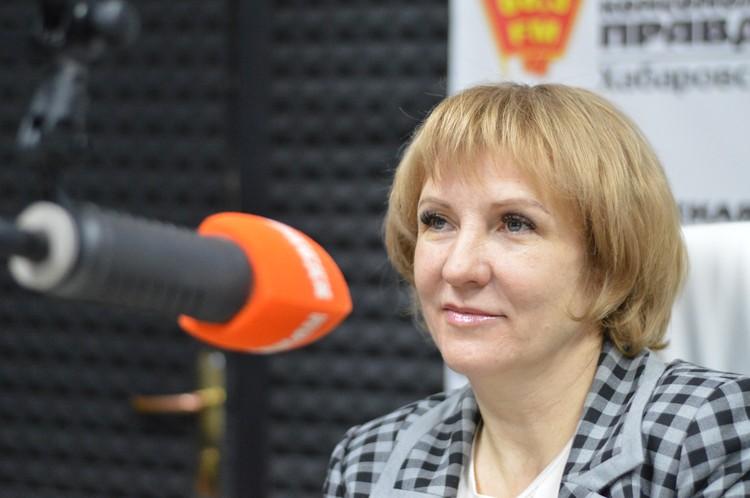 Марина Лоскутникова, первый заместитель Министра культуры Хабаровского края